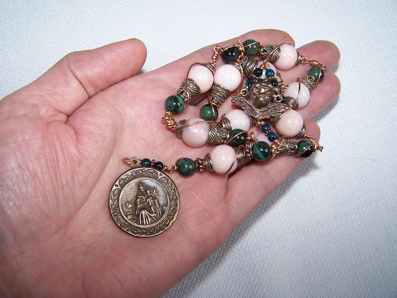No. 105. Chaplet Of Our Lady Of Mount Carmel
