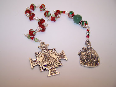 No. 74.  Chaplet of Our Mother Of Perpetual Help (SOLD)