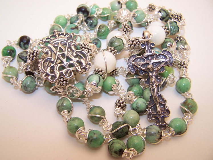 No. 5.  Rosary of the Immaculate Conception of the Blessed Virgin Mary (SOLD)