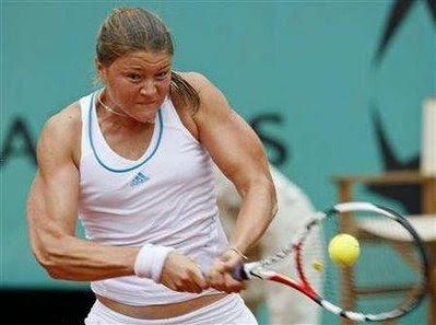 Dinara Safina Hot Tennis Wallpaper