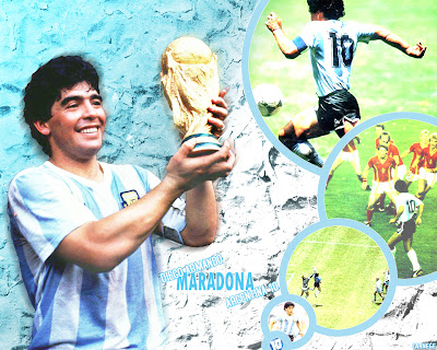 Diego Maradona Won The Tophy