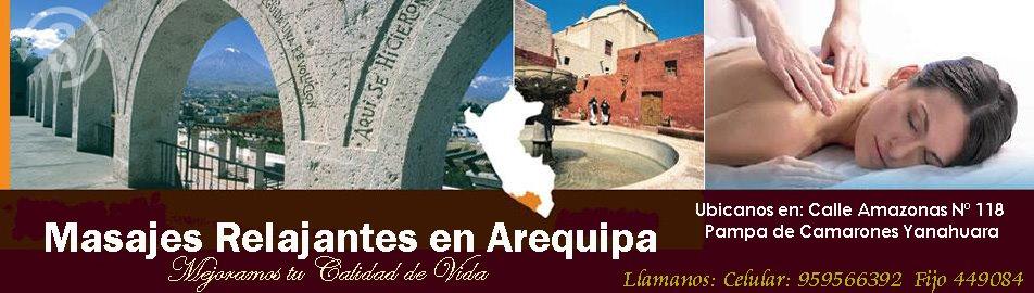 MASAJES PROFESIONALES EN AREQUIPA