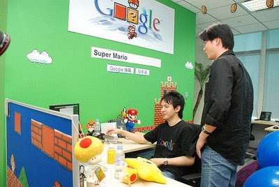 Photos of Google Offices