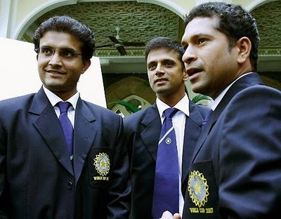 Three Trio - Sourav, Sachin and Rahul