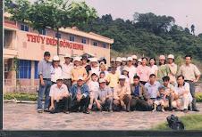 Tập thể GV Trường THPT Lê Thành Phương thăm thuỷ điện Sông Hinh