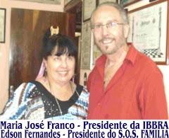 MARIA JOSÉ E EDSON FERNANDES