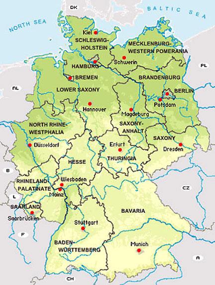 The Blonde Abroad: Stuttgart/Konstanz/Heidelberg/Tuebingen