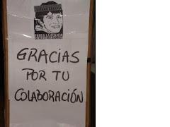 Peña Solidaria con la Flia. Arruga