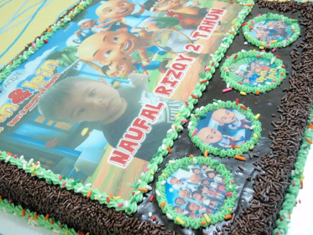 Yani S Homemade Cake Upin Ipin Cake
