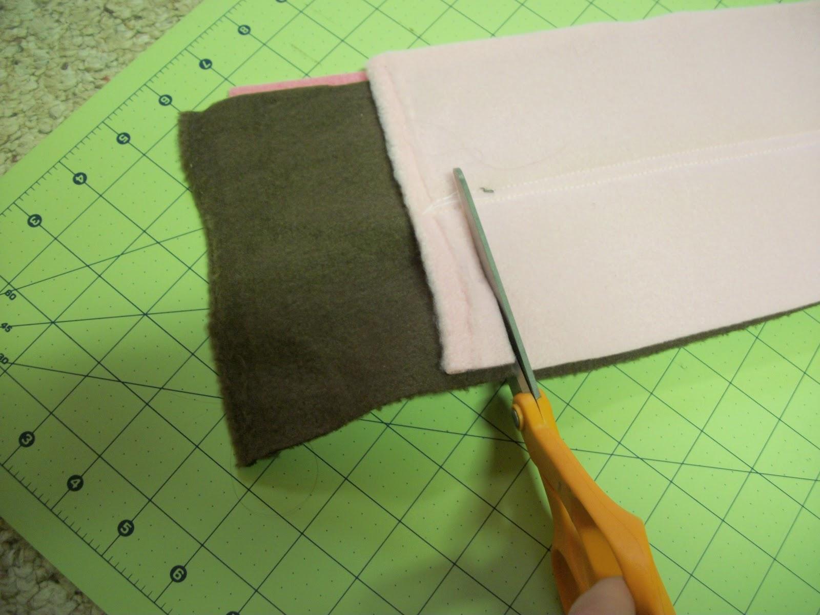 3 способа сделать шарф из флиса Шитье