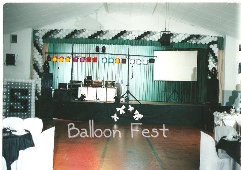Balloon Fest Decora O De Palco
