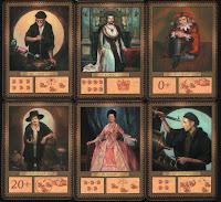Ukázka karet členů královského dvora