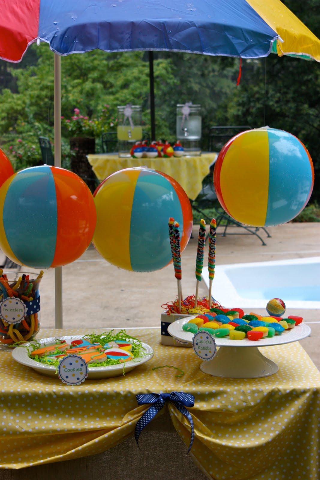 Indoor Beach Party for the Teen Beach Movie -