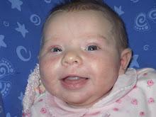 Taytum first smile captured on film