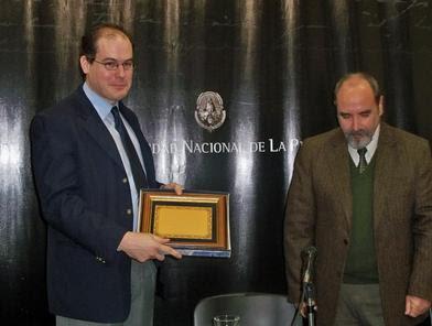 Santiago Grigera en UNLP