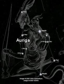 Constelación Auriga