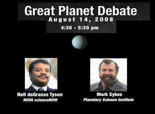 El gran debate planetario