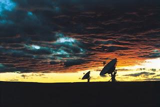 Atardecer en el VLA