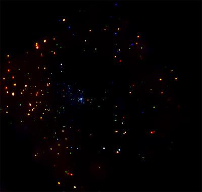 RCW 108 en rayos-x por Chandra