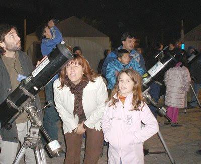 Fiesta de telescopios