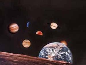 Ilustración Sistema Solar