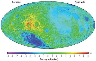 Mapa de la Luna