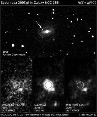SN 2005gl en NGC 266