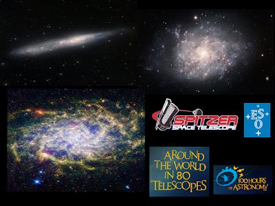 NGC 55, NGC 7793 y M33