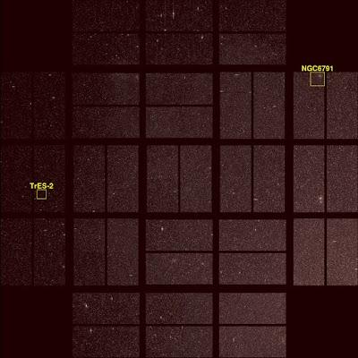 NGC 6791 y Tres-2 por Kepler