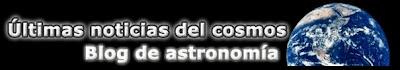 Logo del blog Últimas noticias del cosmos