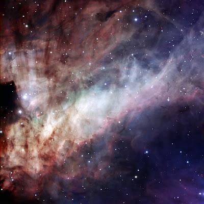 Nebulosa Omega en detalle