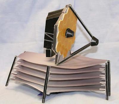 Modelo de papel del JWST