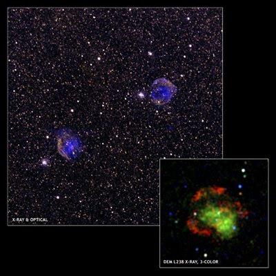 Posible nueva clase de supernova