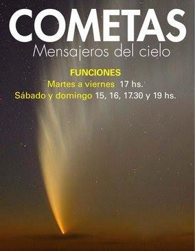 Cometa en el Planetario