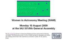 Mujeres en Astronomía