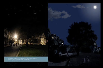 Las Lunar Resonant Street Light facilitan una nueva conexión con la naturaleza