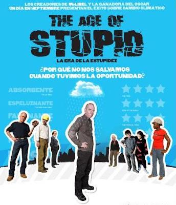Poster de La era de la estupidez