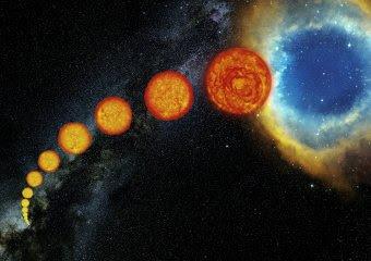 La vida de las estrellas similares al Sol