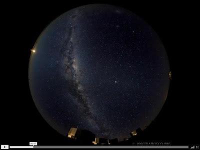 El cielo sobre VLT
