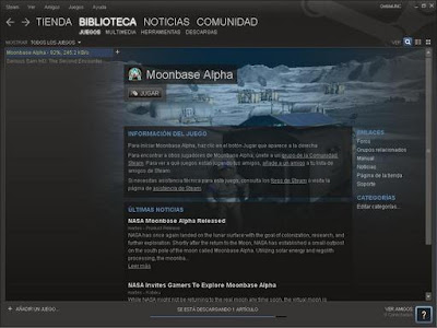 Steam Moonbase