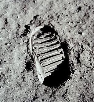 Huella Apolo 11