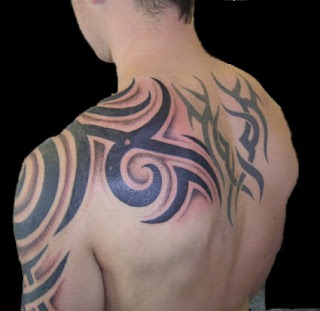 Lower Back Idea for tribal tattoo