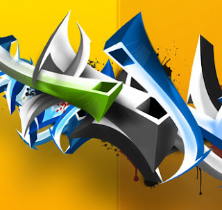 Digital Graffiti Alphabet - Amazing Graffiti