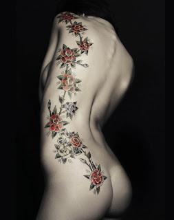 flowero tatuaggi schiena