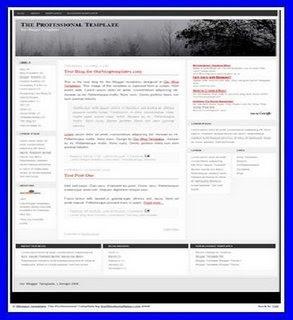Profesional Template 4 Column,template adsense,blogspot template,free template