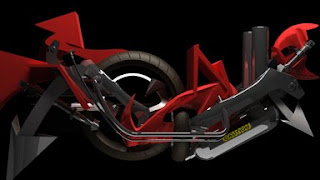 red motorcyle graffiti 3d digital alphabet art styles combination,graffiti alphabet styles,graffiti alphabet art,red styles digital