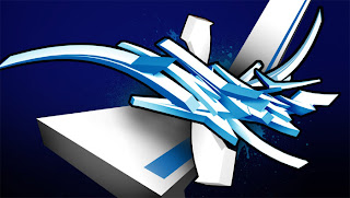 white graffiti alphabet background blue digital,graffiti alphabet letters white, background alphabet graffiti