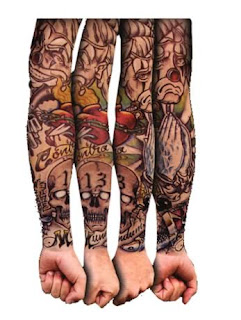 four hand tattoos gangsta - tattoos art design, tattoos art, hot tattoos gangsta