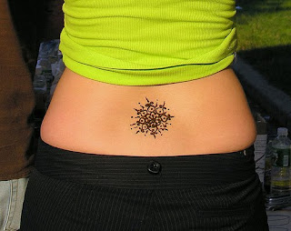 si ple tattoos lower back, hot tattoos for girls