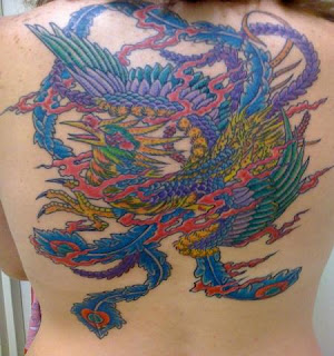 phoenix tattoos girls art